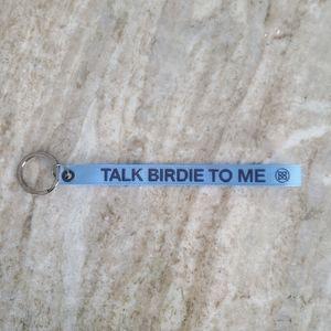 "New G/Fore Golf Keychain ""Talk Birdie To Me"""